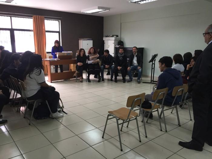2017 – Workshop in Antofagasta, Chile
