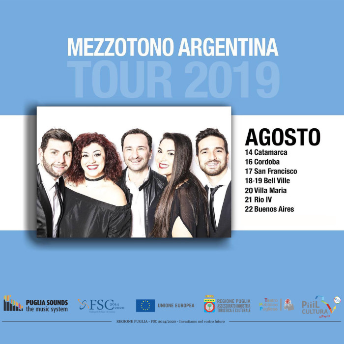 TOUR ARGENTINA PUGLIASOUNDS